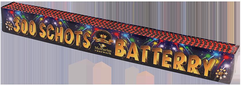 Battery 300 Schots